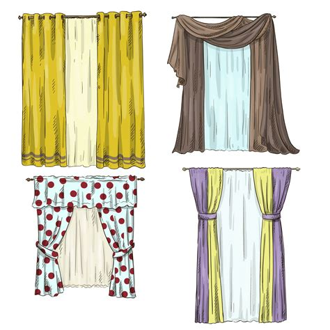 sheer casement curtain sketch google search drapery curtains drapes curtains curtain designs