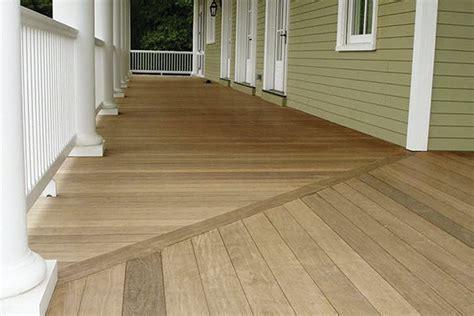 flooring   shaped porch professional deck builder