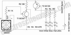 Pir Led Security Light Circuit
