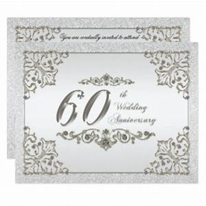 diamond wedding anniversary cards invitations zazzlecouk With diamond wedding invitation cards uk