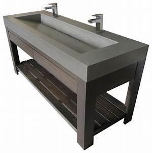 lavare 60quot sink unit with drawer contemporary bathroom With bathroom sink drawer unit