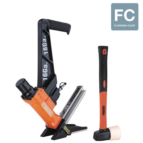18 ga floor nailer freeman pneumatic 3 in 1 16 t l cleat nailer and 18