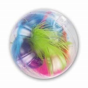 Boule Noel Transparente : boule de no l transparente garnir 70 mm x1 perles co ~ Melissatoandfro.com Idées de Décoration