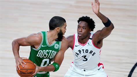 Celtics officially facing Raptors in 2nd round after Nets ...
