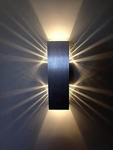 wandleuchte led innen phoewon 8w modern led licht