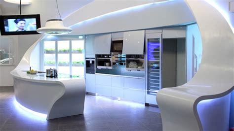 led cuisine la cocina futuro con electrodomésticos rápidos e