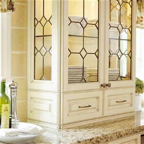 beveled kitchen cabinet doors leaded glass the and the doors on 4616
