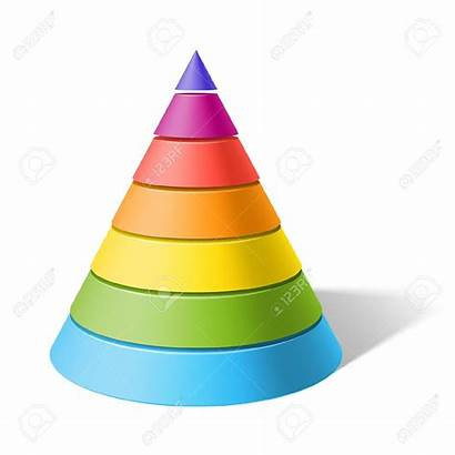 Cone Clipart Clip Layered Shaped Shape 3d
