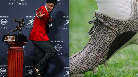 adidas wanted lamar jackson  wear yeezy cleats hed