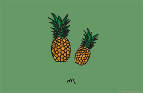 emes pineapple hd wallpapers