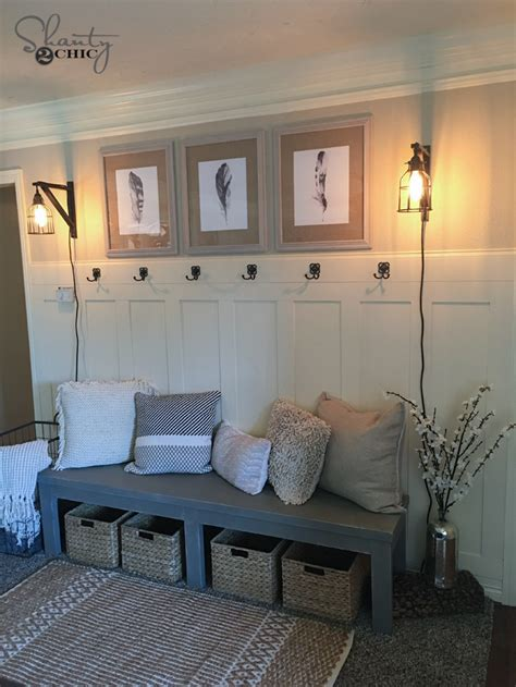 board and batten interior diy board and batten wall shanty 2 chic