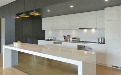 kitchen island back panel contemporary kitchens inavogue