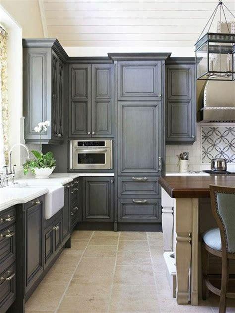 modele couleur cuisine cuisine meubles gris gallery of cuisine gris plan de
