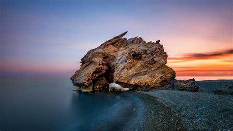 landscape, Elephant rock (england), Rocks, Coast, Sea ...