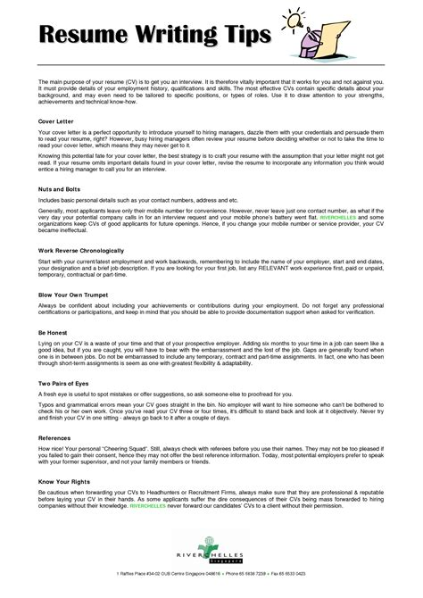 resume writing tips resumecareer pinterest resume