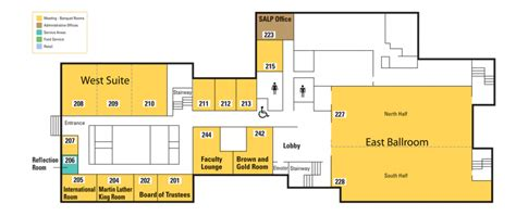 locations  floor plans bernhard center western