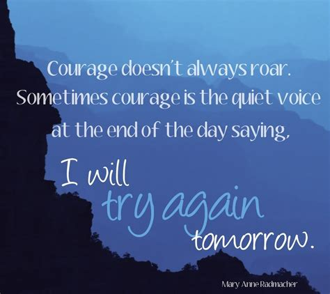 courage doesnt  roar oc   quotes