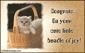 Baby Announcement Ecards Your Cute Bundle Of Joy Free Congratulations Ecards