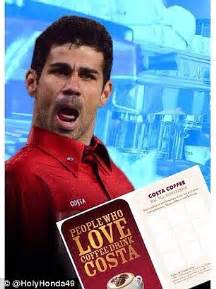 Diego Costa Meme - diego costa st memes chelsea star escapes red card against liverpool in capital one cup semi
