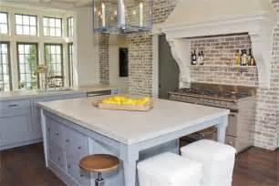 brick backsplash kitchen brick kitchen transitional kitchen har