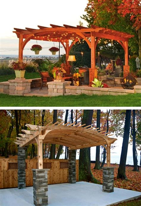 pergolas designs modern country designs wooden pergola