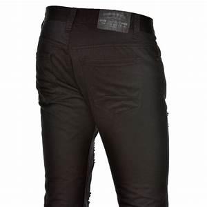 Jean Slim Noir Homme : jeans jean noir homme slim trou tendance blz jeans ~ Voncanada.com Idées de Décoration