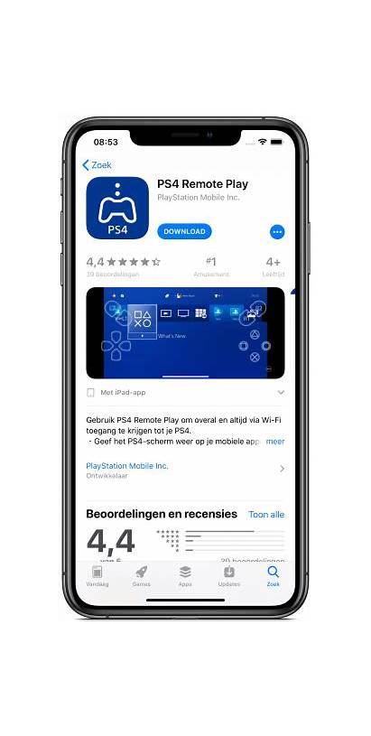 Remote Ps4 Play Iphone Ipad Playstation Je
