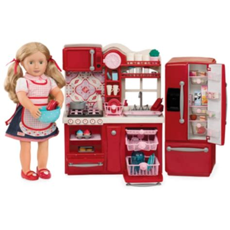 our generation kitchen set buy our generation doll gourmet kitchen set at well ca