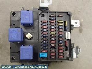 2003 Nissan Bluebird Fuse Box Diagram