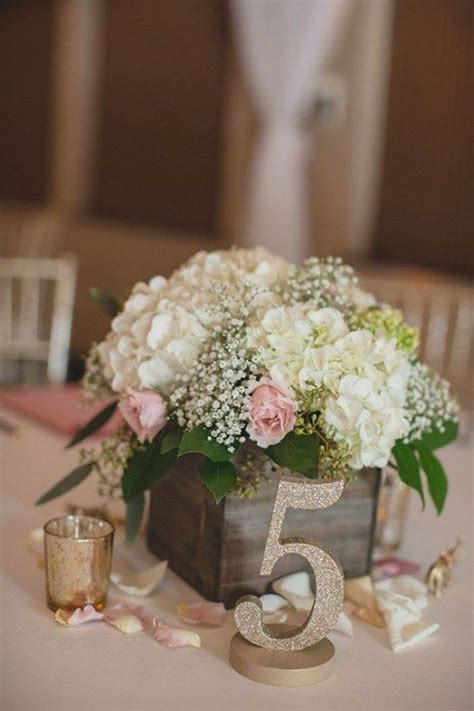 wooden box wedding decor centerpieces flower box