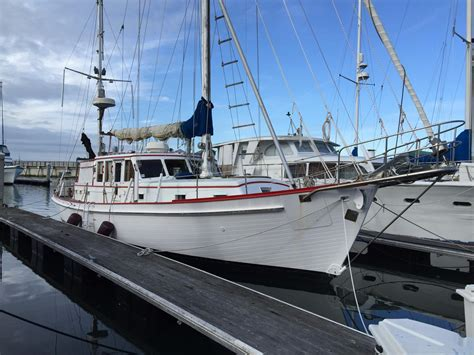 X Sailboats For Sale by 1962 American Marine Pilothouse Ketch Sail Boat For Sale