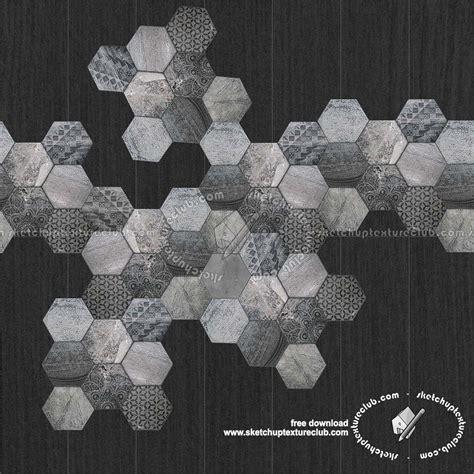 hexagonal tile texture seamless