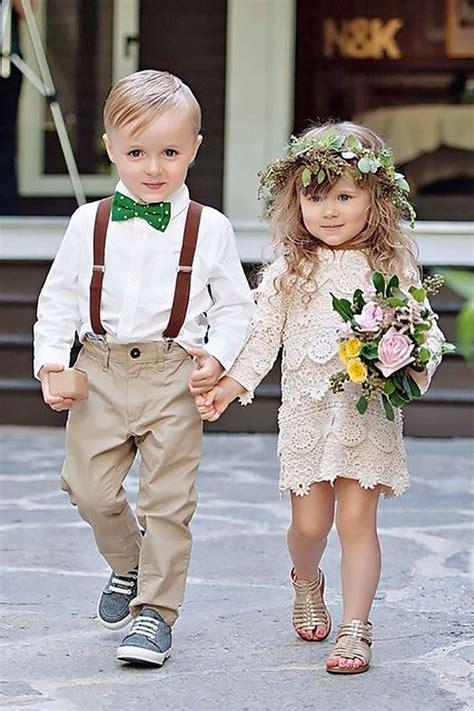 Ring Bearer u0026 Flower Girl - Super Cute Wedding Guests | Pinterest | Wedding Too cute and Flower