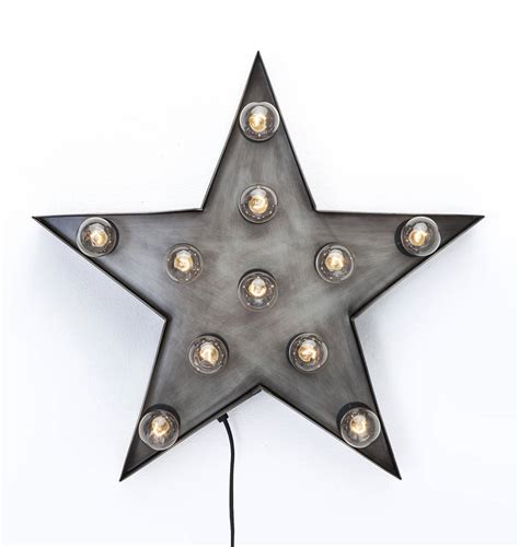 star wall light by i love retro notonthehighstreet com