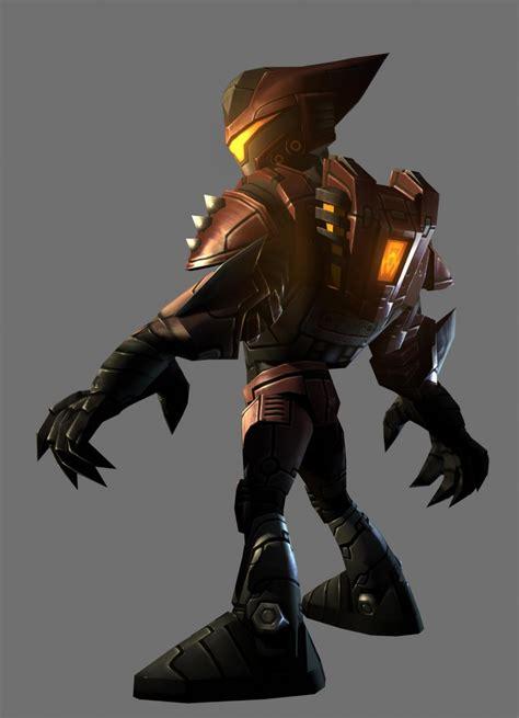characters artwork ratchet deadlocked ps ratchet