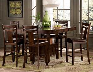 counter height kitchen tables and chairs eureka square With height of dining room table