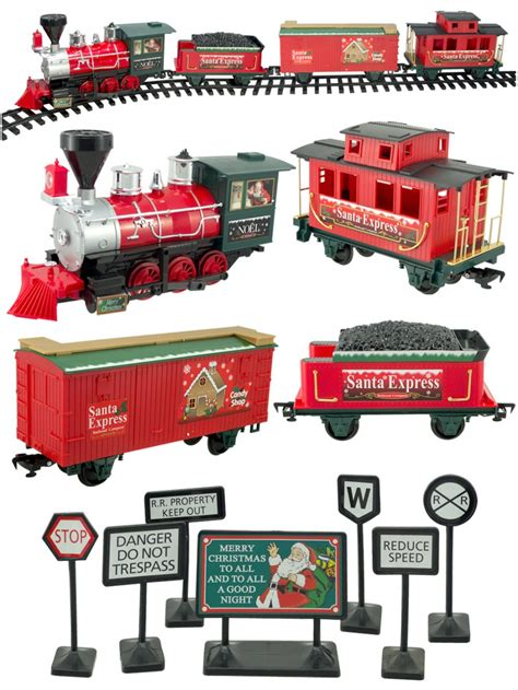 santa express deluxe train set  piece animation