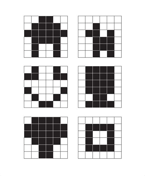 sample printable graph paper templates