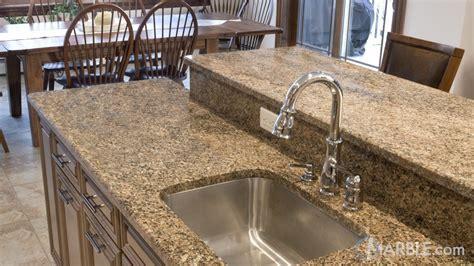 Key West Gold Granite Kitchen Countertops