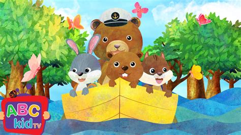 Row Row Your Boat Abc Kid Tv by Row Row Row Your Boat 2d Cocomelon Abckidtv Nursery