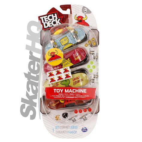 Tech Deck Machine by Tech Deck Machine 4pk Series 1 Skater Hq