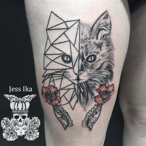 Tatouage Loup Origami Signification Tattooart Hd