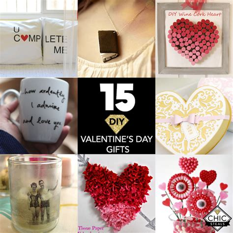 diy valentines day gifts   chic creative life