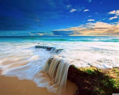Sea Wave Waterfall Wallpapers13