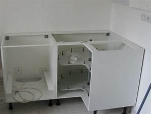 Meuble Cuisine D Angle : amenagement meuble d angle cuisine 2 amenagements la ~ Dailycaller-alerts.com Idées de Décoration