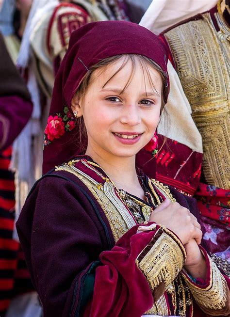 macedonian girl galichka svadba people macedonia
