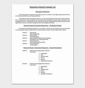 Apa Style Doc Research Paper Template 13 Free Formats Outlines