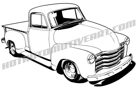 chevy truck car 57 chevy outline www imgkid com the image kid has it