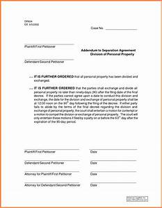 common separation agreement template 28 images 5 With seperation agreement template