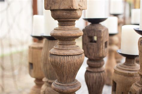reclaimed wood candle holder set of 3 reclaimed wooden furniture leg candle holders